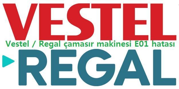 Vestel / Regal çamaşır makinesi E01 hatası